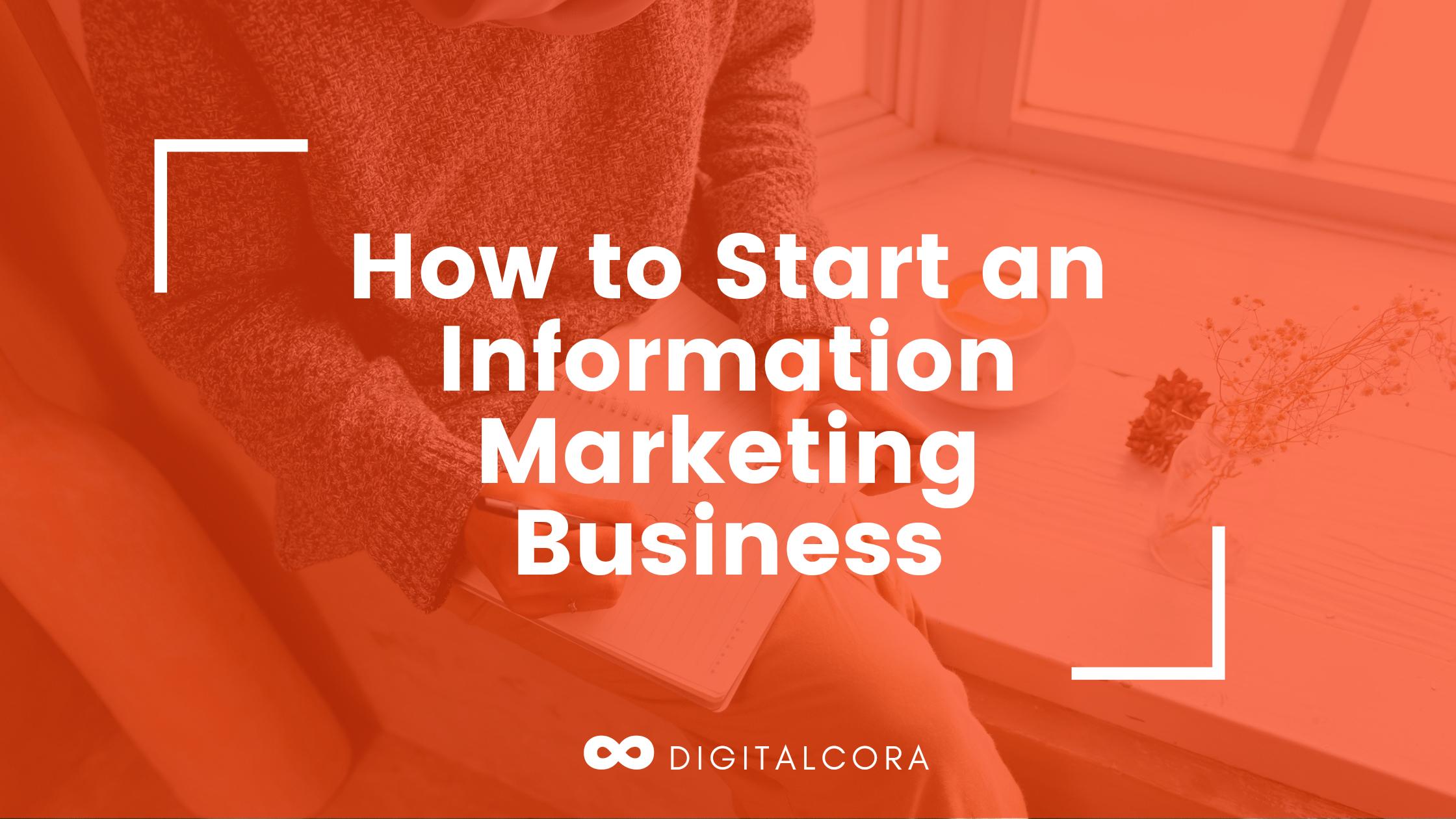 information marketing business